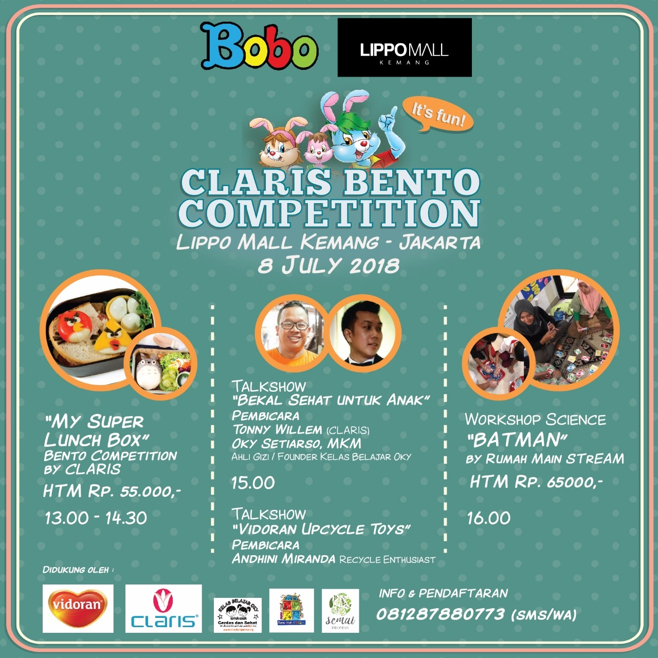 CLARIS BENTO COMPETITION