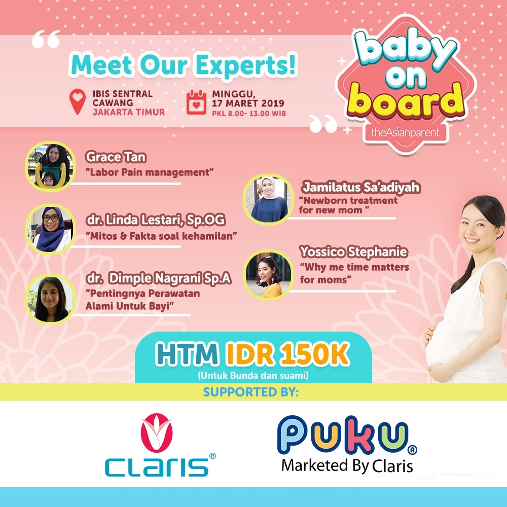 CLARIS X BABY ON BOARD