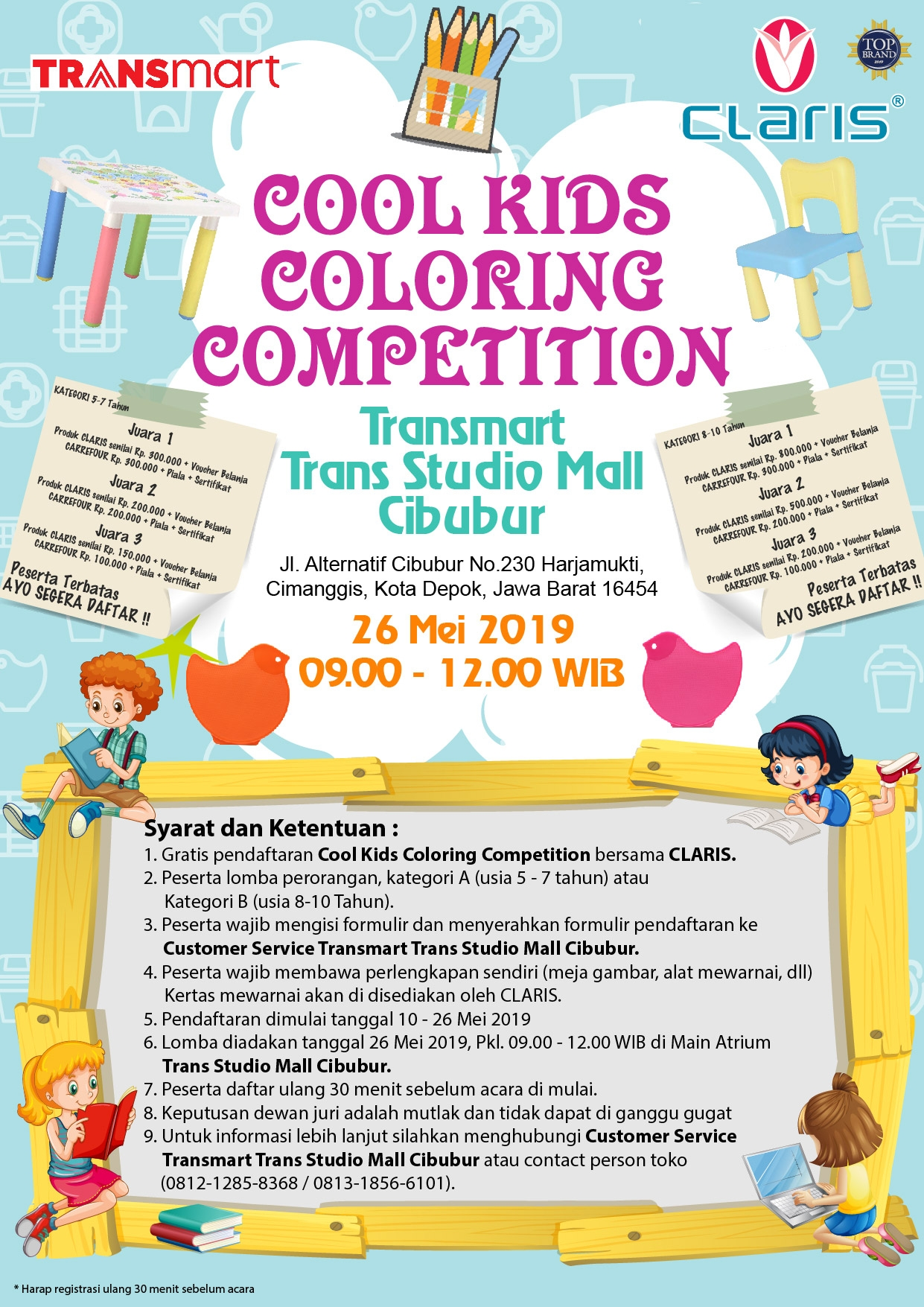 COOL KIDS COLORING COMPETITION