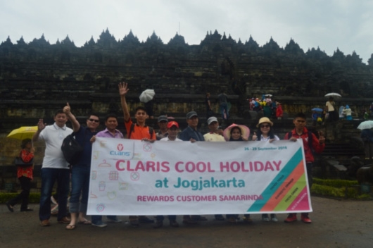 CLARIS COOL HOLIDAY : Rewards Customer Samarinda