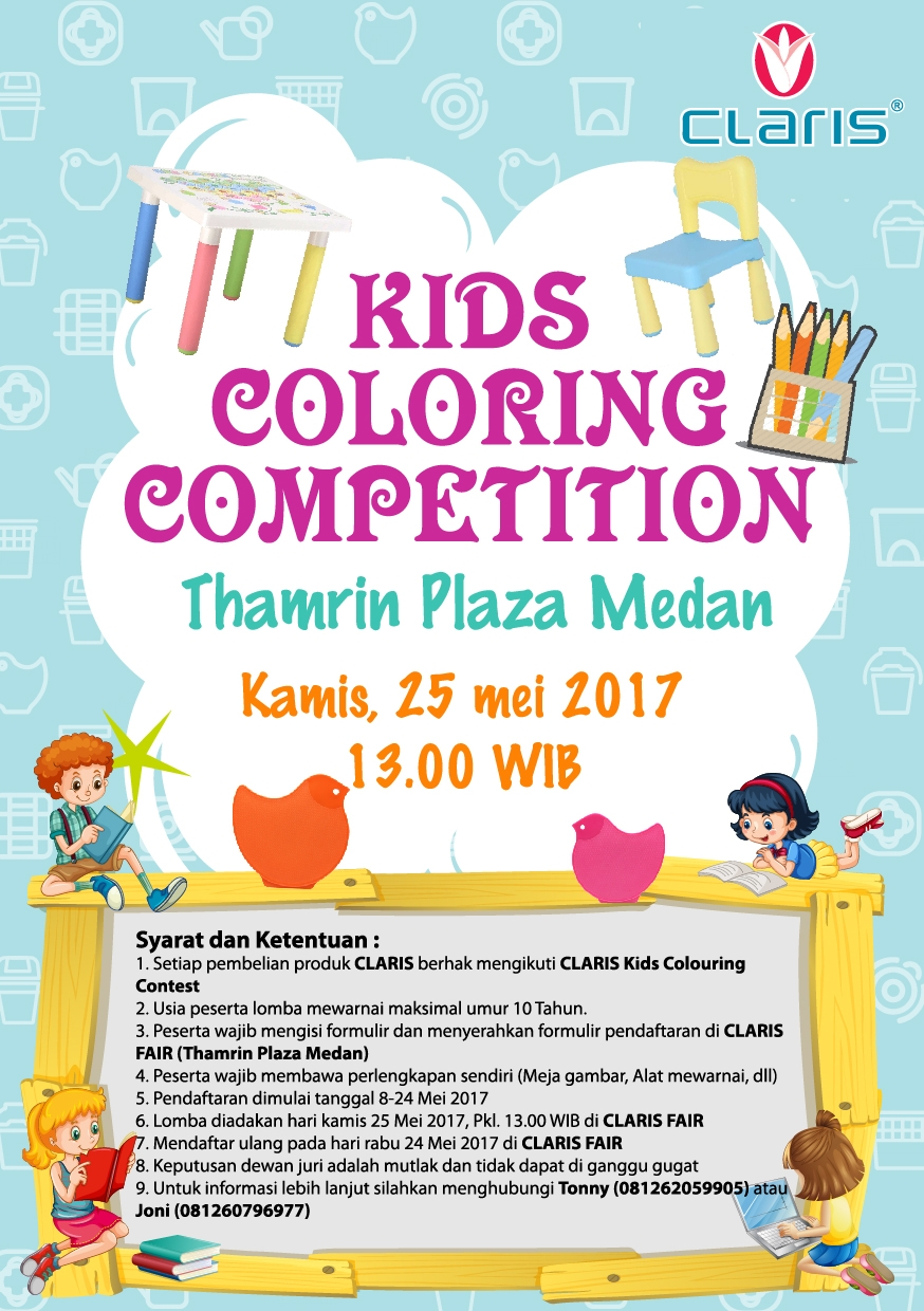 Kids Coloring Competition 2017